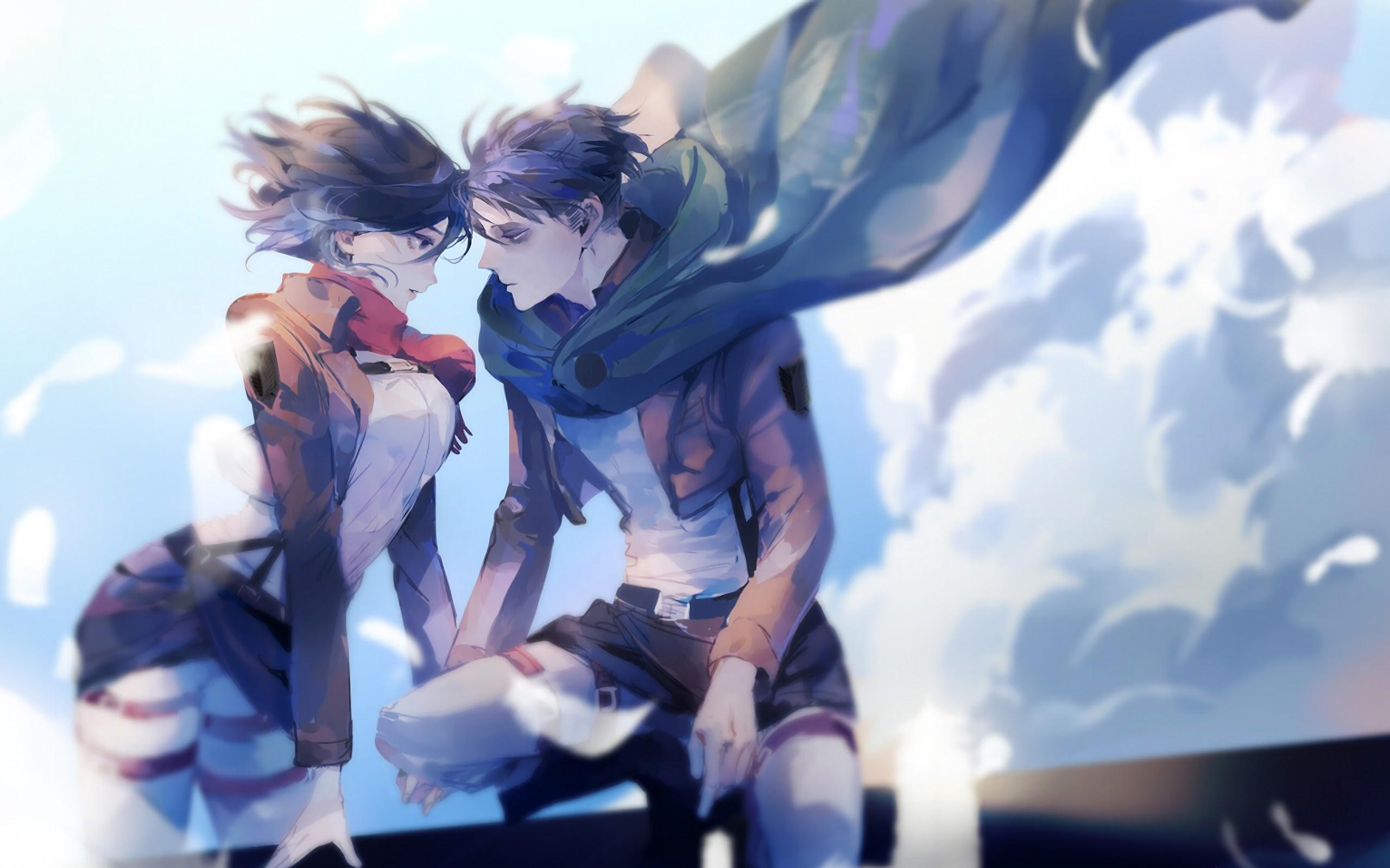 Mikasa And Levi Attack On Titan 4k Wallpaper 156