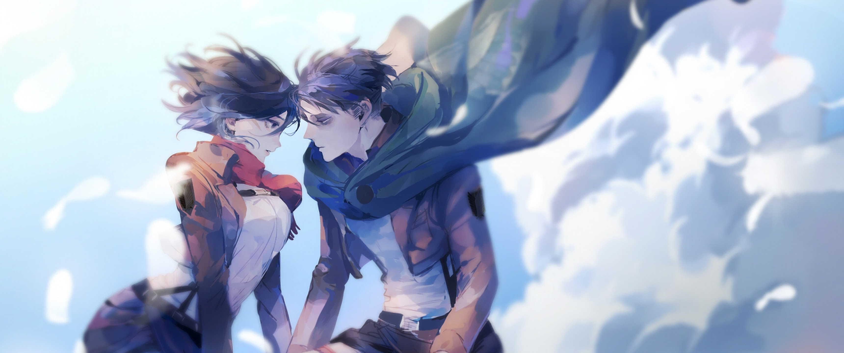 Mikasa And Levi Attack On Titan 4k Wallpaper 156
