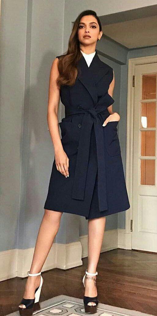 Deepika Padukone at New York Fashion Week Photos