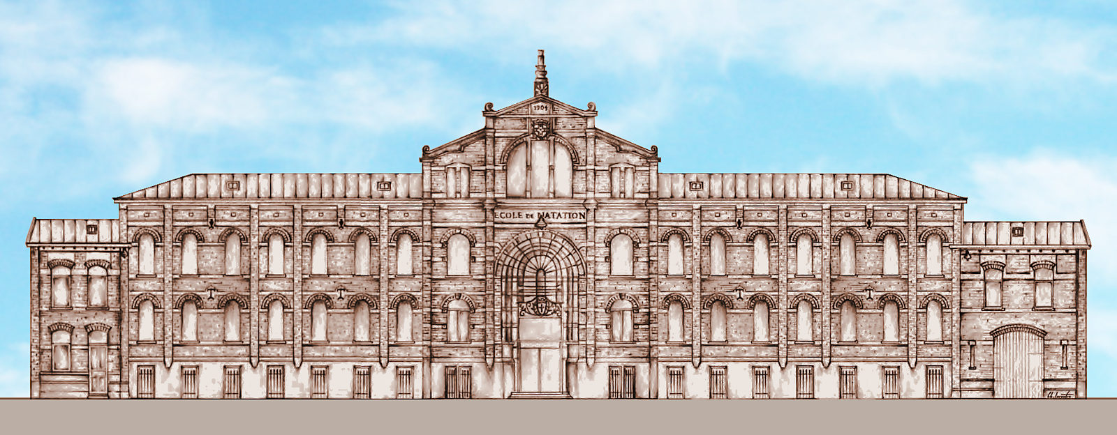 Ancienne École de Natation - Tourcoing