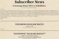 NYA Schedule 2021-2022