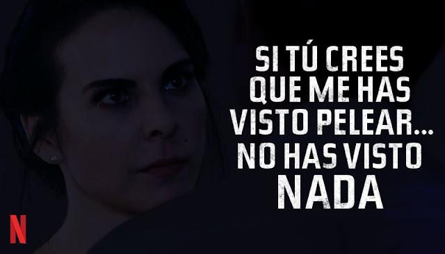 Si tú crees que me has visto pelear... No has visto nada - Emilia Urquiza en Ingobernable
