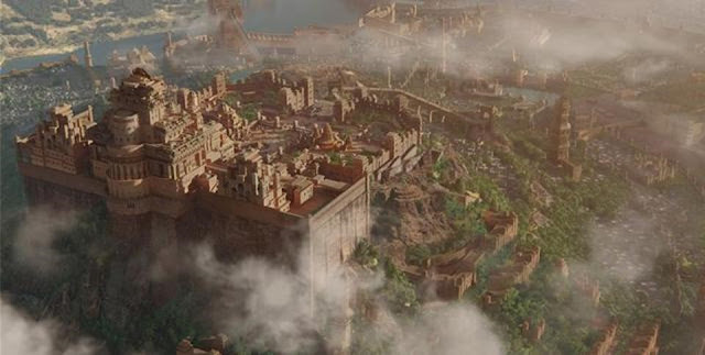 Bahubali Movie Visualisation Scene of Mahishmati