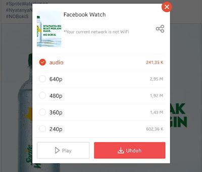 Cara Download (unduh) Video Facebook di Android Terbaru