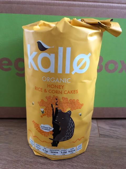 Kallo Organic Honey rice and corn cakes are delicious and addictive.