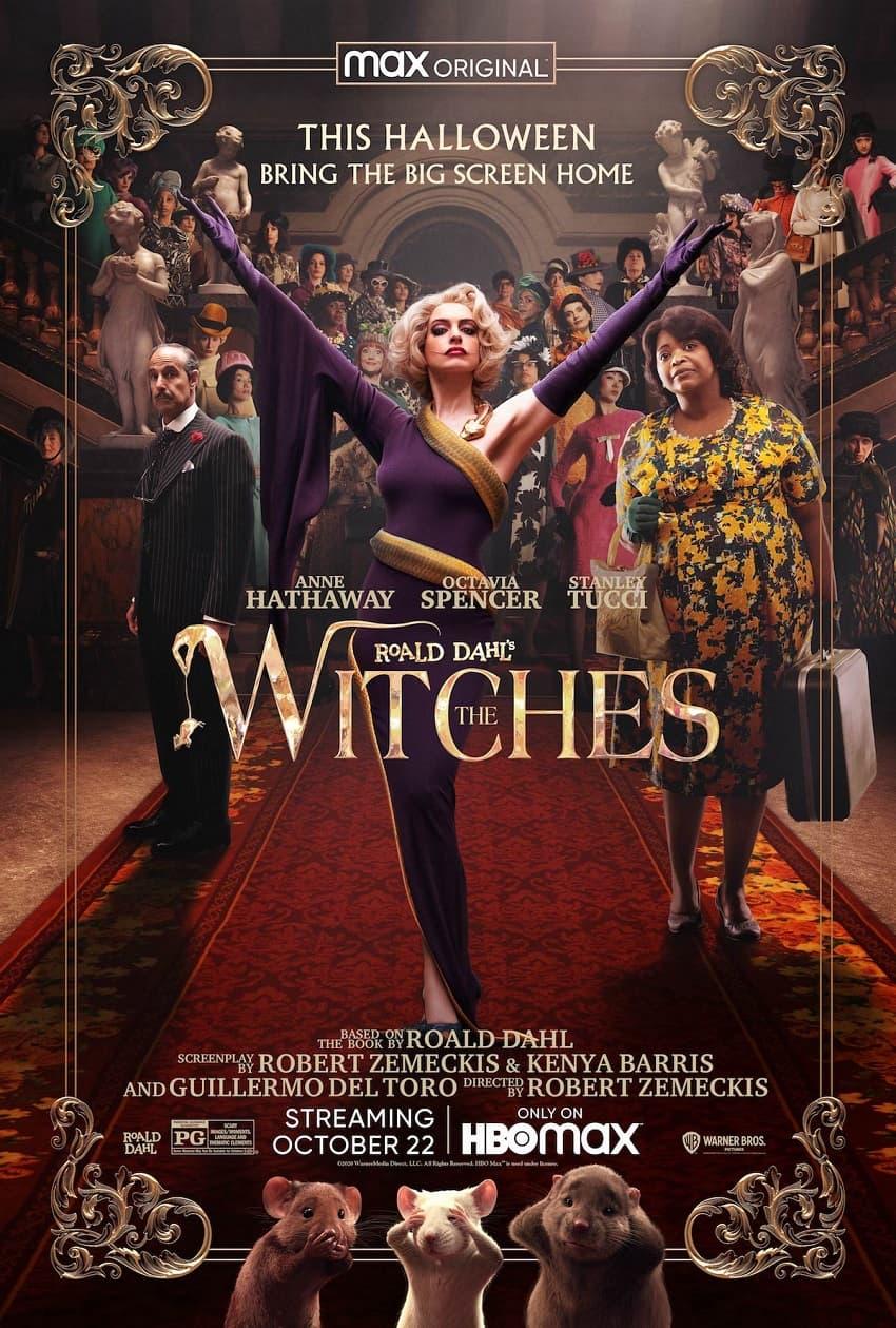 Warner Bros покажет сказку «Ведьмы» уже в октябре - эксклюзивно на HBO Max - Постер
