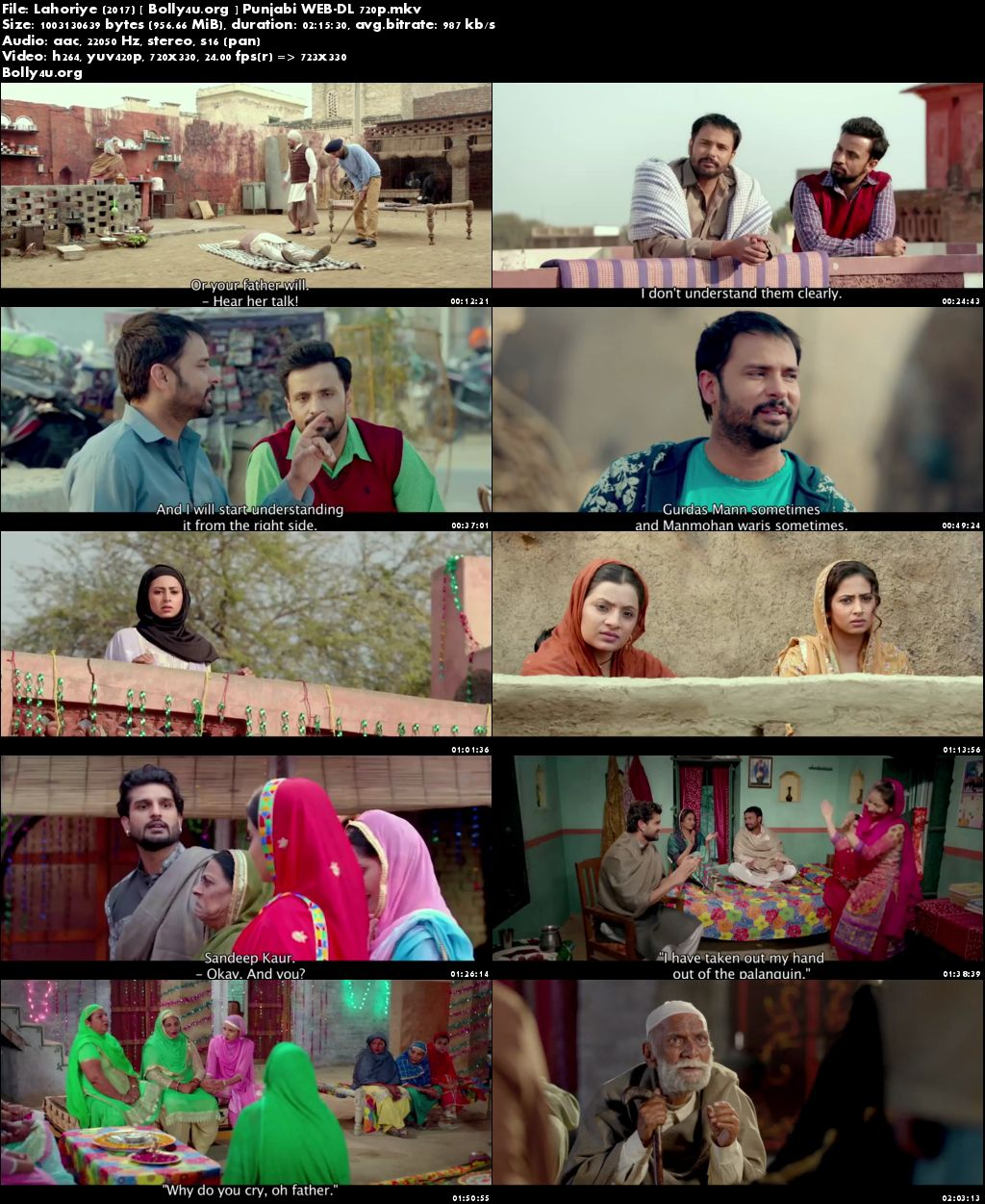 Lahoriye 2017 WEB-DL 950Mb Full Punjabi Movie Download 720p