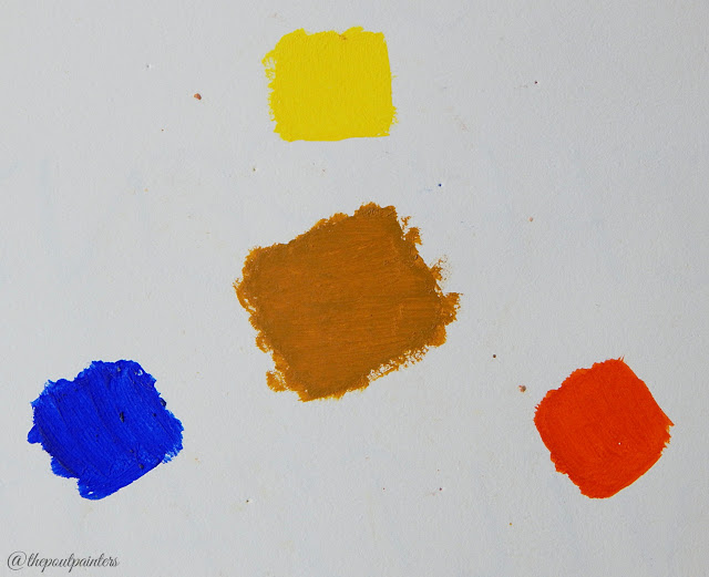 Brown Primary Colours Colour Theory Neutralisation
