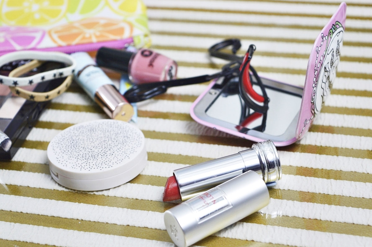 What's in my BeautyBag Lancôme Lipsticke Madame Tulipe
