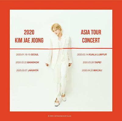 Kim Jaejoong Gelar Asia Tour Concert di Indonesia Pada 2020