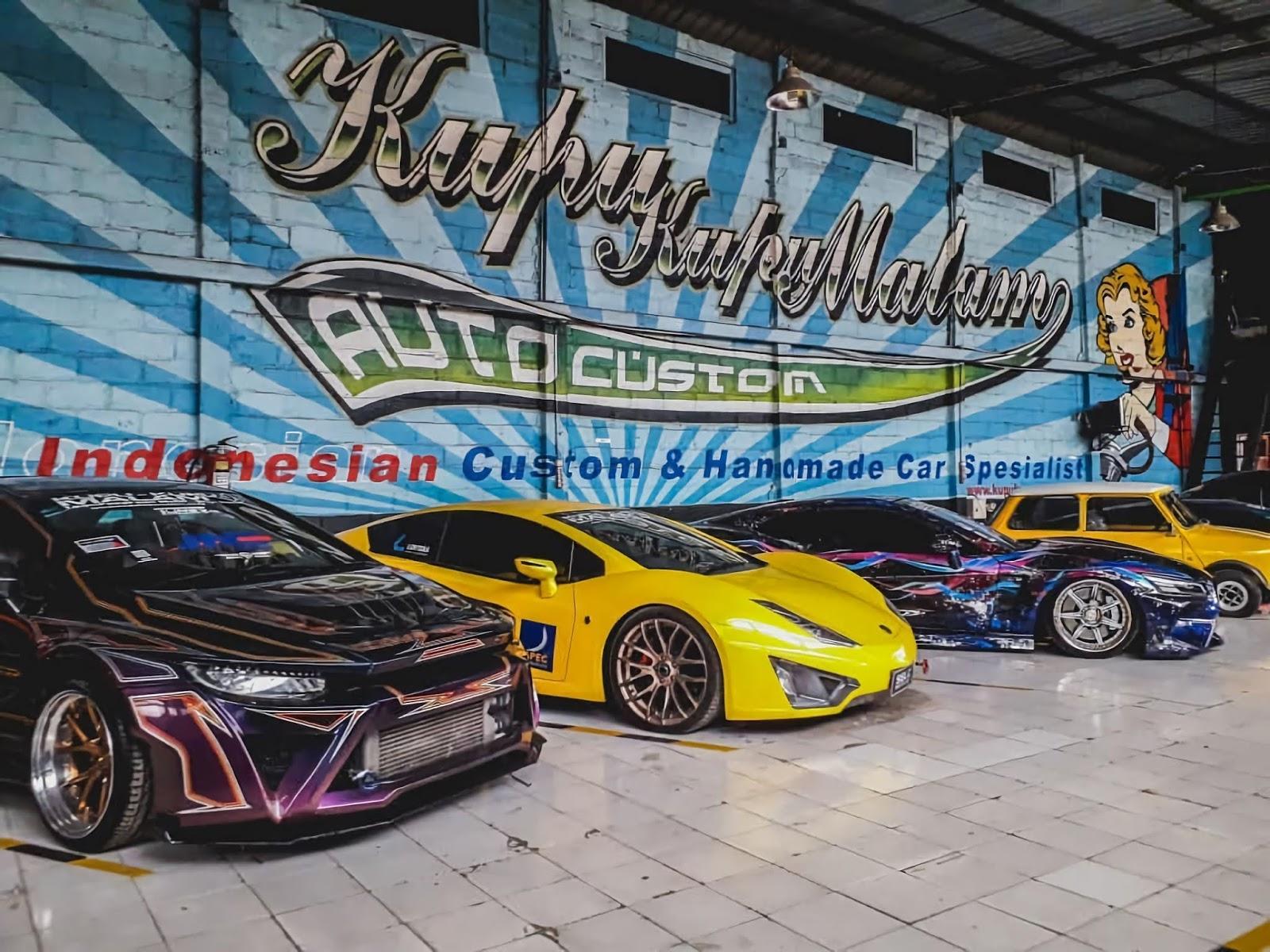 Kupu-Kupu Malam Jogja Auto Custom
