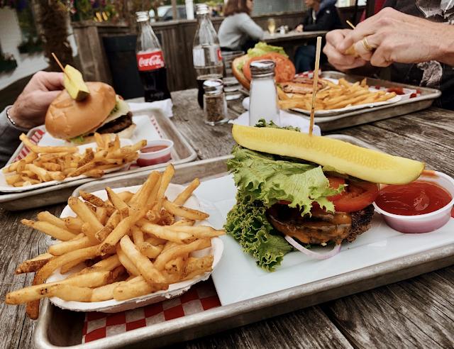 Hamburgers & French Fries