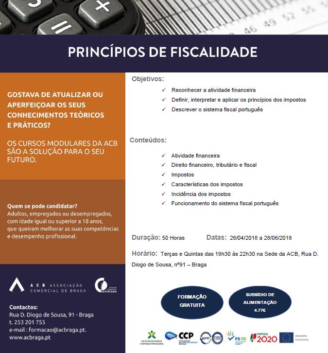 Cursos gratuitos em Braga (UFCD´s)