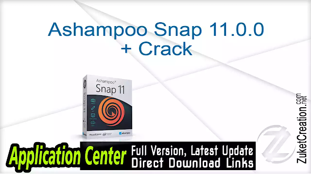Ashampoo Snap 11.0.0 + Crack