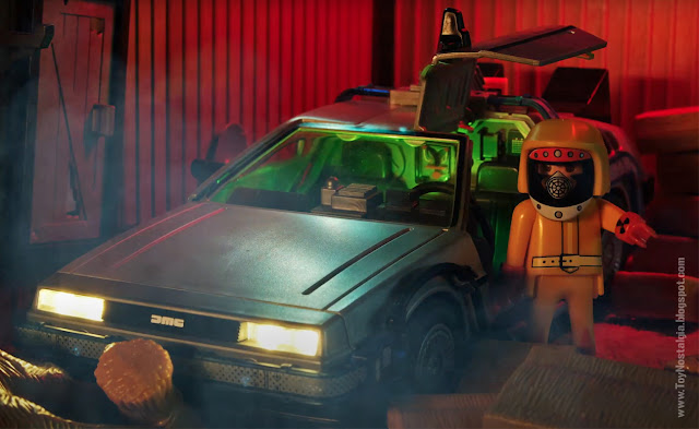 Marty Mc Fly en la granja de Peabody Playmobil Back To The Future - Calendario de Adviento (©Playmobil Geobra Branstätter)