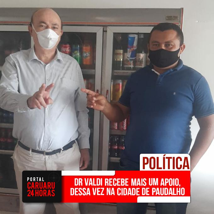 Dr Valdi Sales, fecha mais uma parceria na cidade de Paudalho
