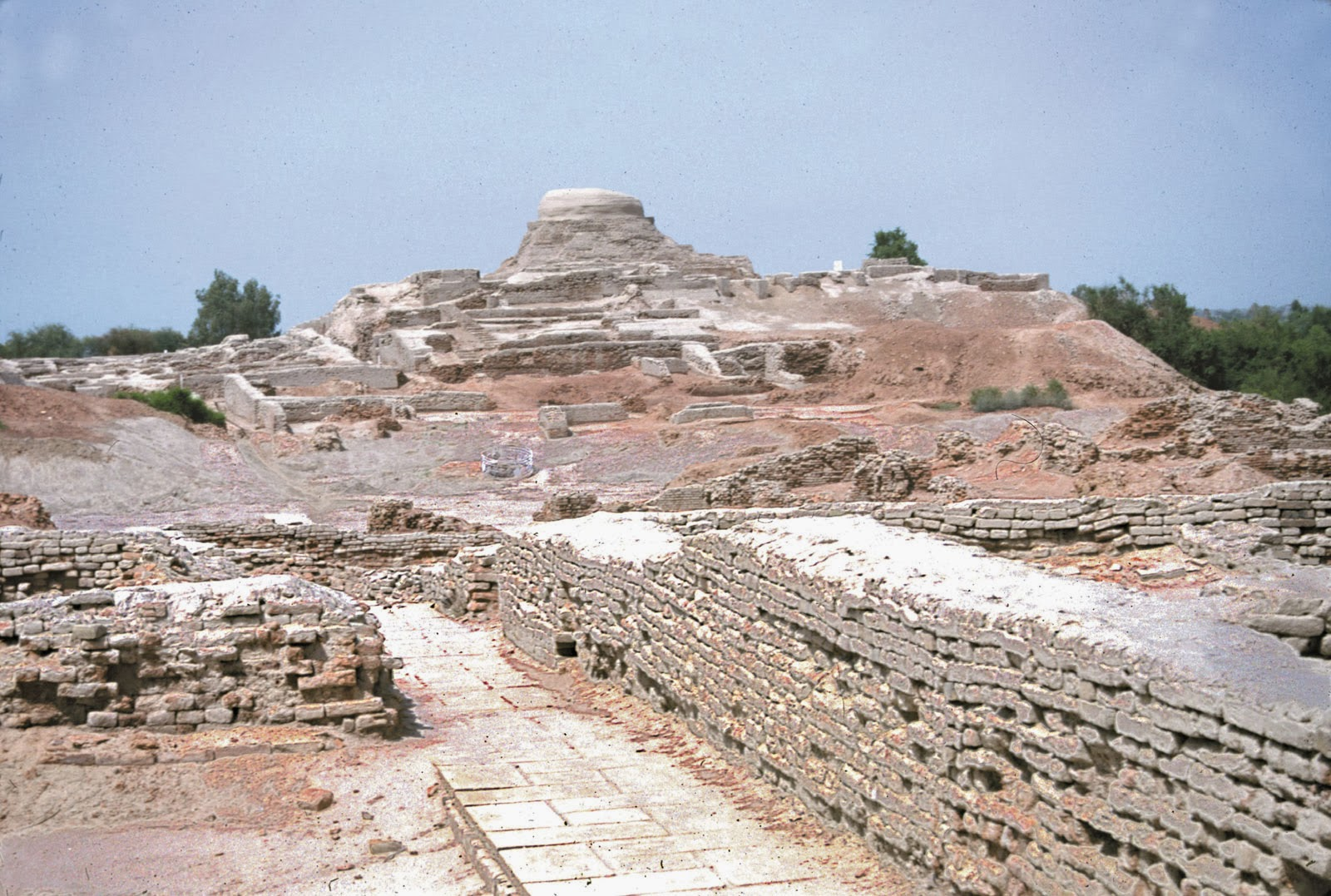 Travel Trip Journey The Ancient City Of Mohenjo Daro