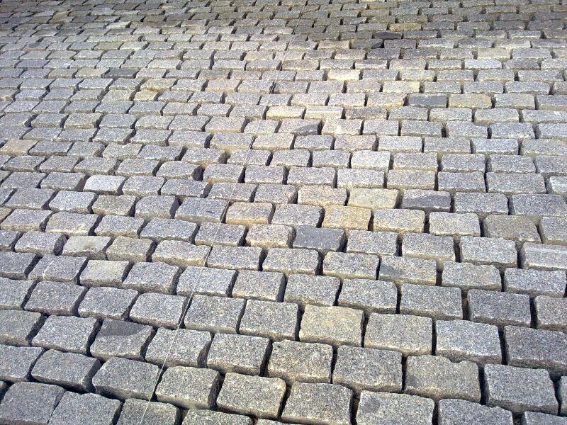 Losas o baldosas granito gris quintana para pavimentos - Precio de adoquines de granito ...