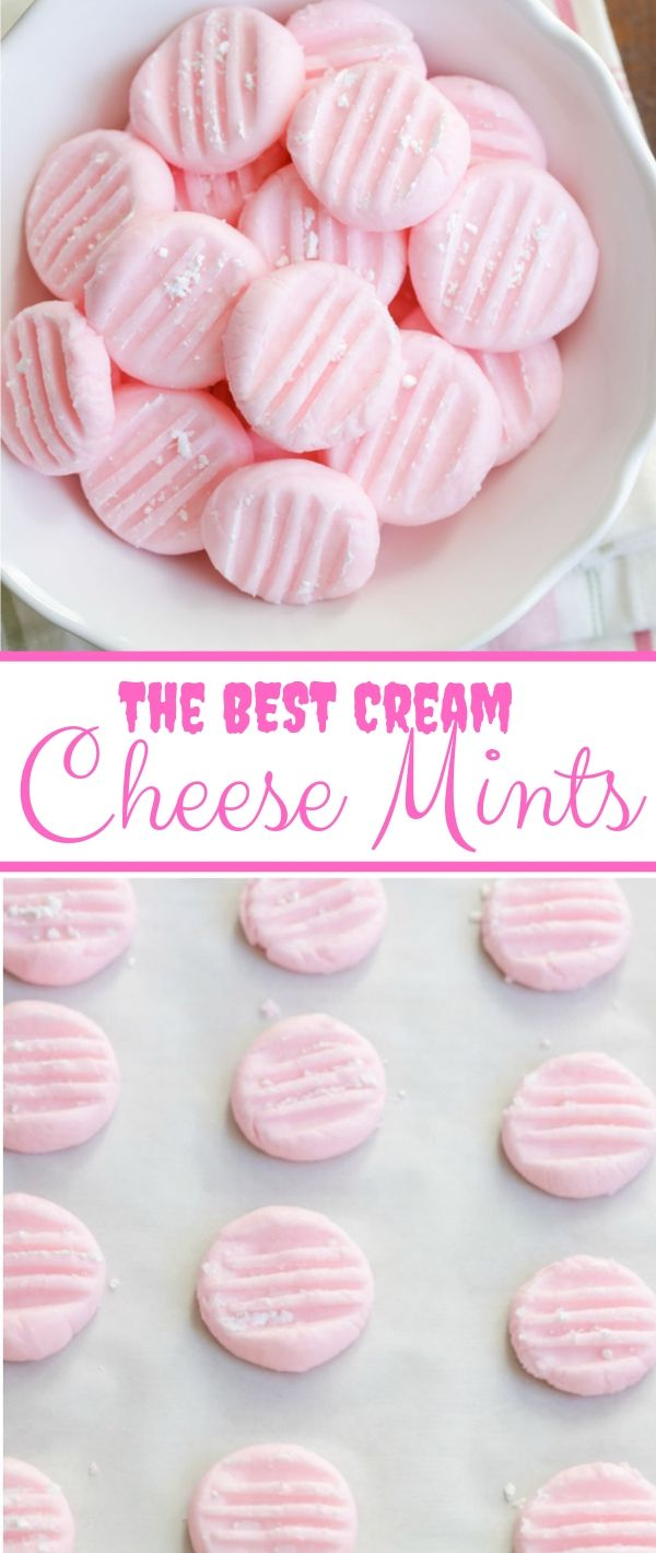 The BEST Cream Cheese Mints #The #BEST #Cream #Cheese #Mints Cookie Recipes Chocolate Chip, Cookie Recipes Easy, Cookie Recipes Christmas,