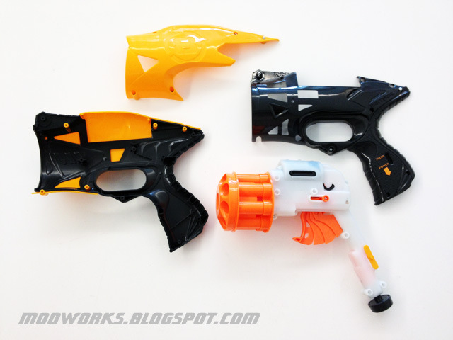 Mod Works: Nerf Dart Tag Snapfire 8 - Internals Guide!
