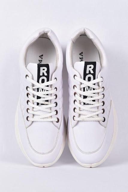 انتهز الفرصة.. اشتري حذاء فاشن إسنيكرز من روما – أبيض بسعر لقطة والشحن مجانًا