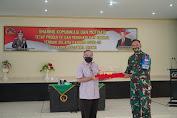 Dr. Aqua Dwipayana Sharing Komunikasi dengan Jajaran Korem 162/WB