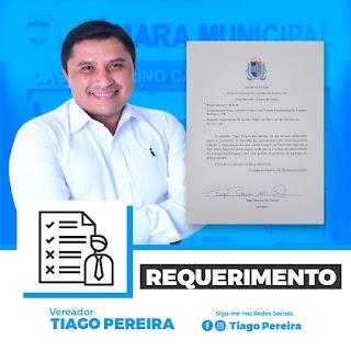 Vereador Tiago Pereira quer  a implantação de uma escola integral em Cacimba de Dentro.