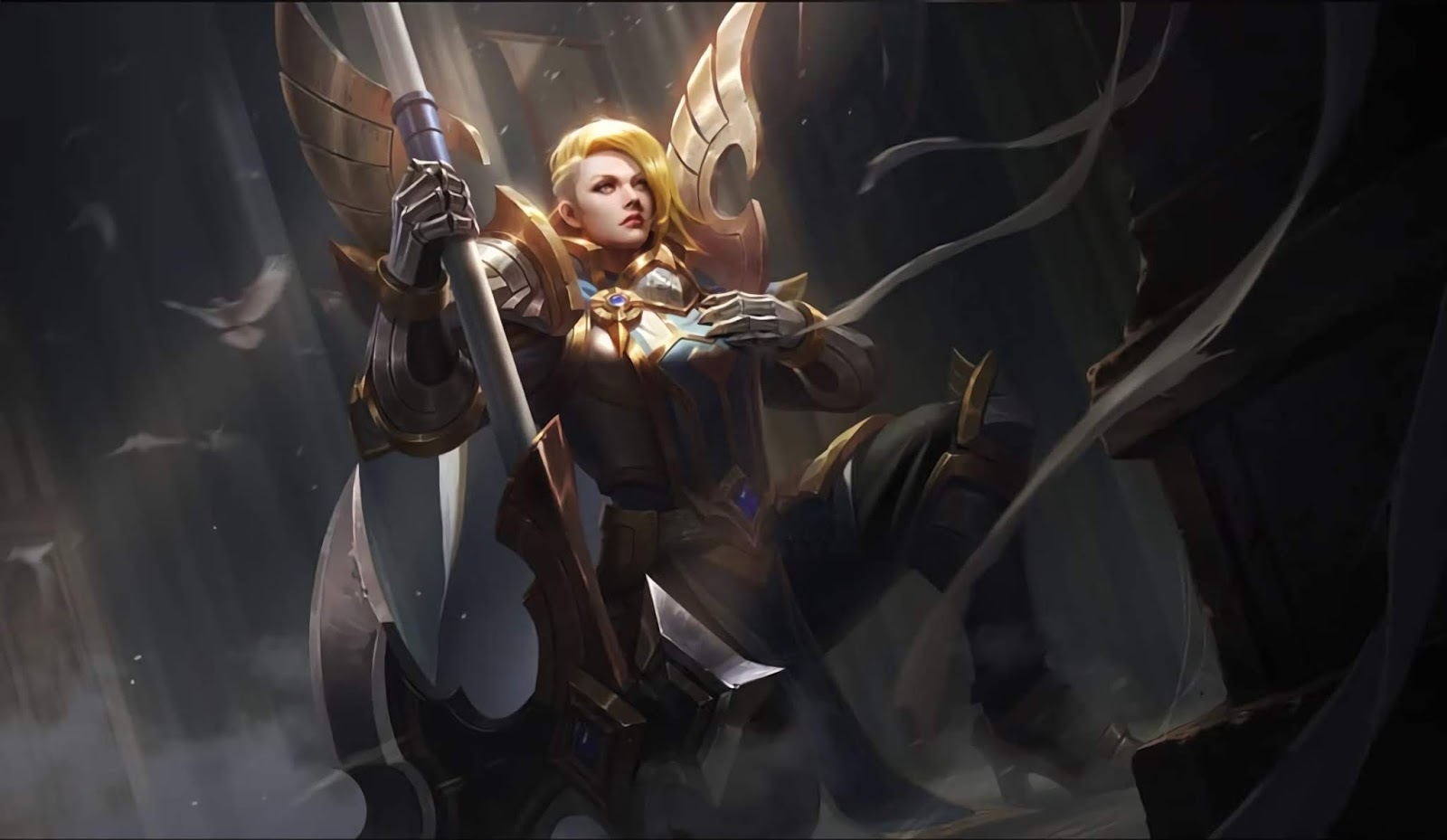 Wallpaper Hilda Sacred Guard Skin Mobile Legends HD for PC