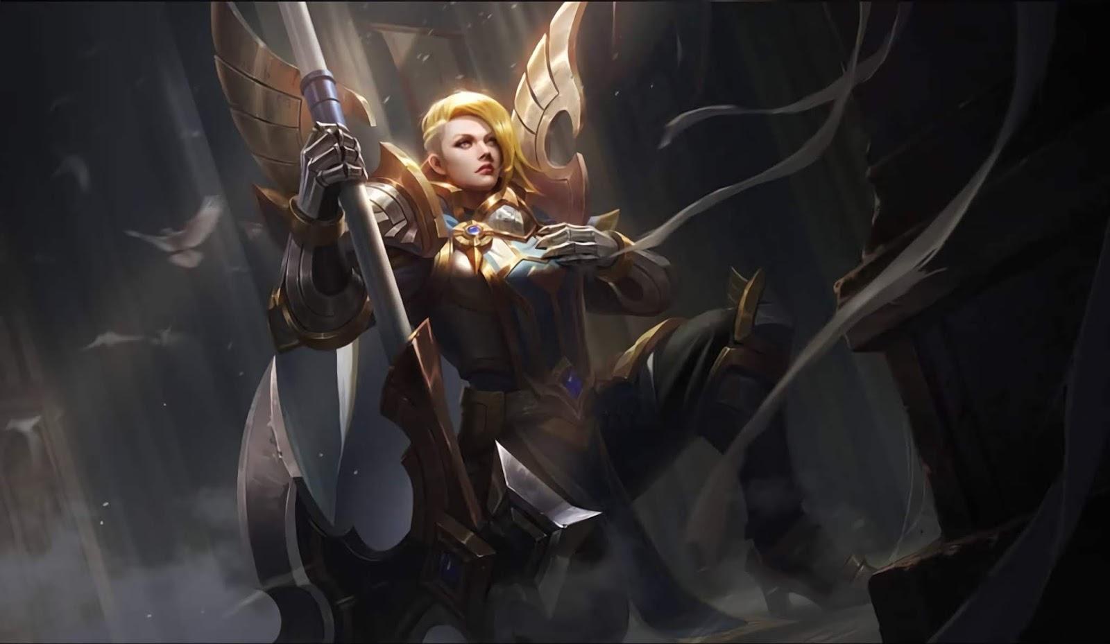Wallpaper Hilda Sacred Guard Skin Mobile Legends HD for PC