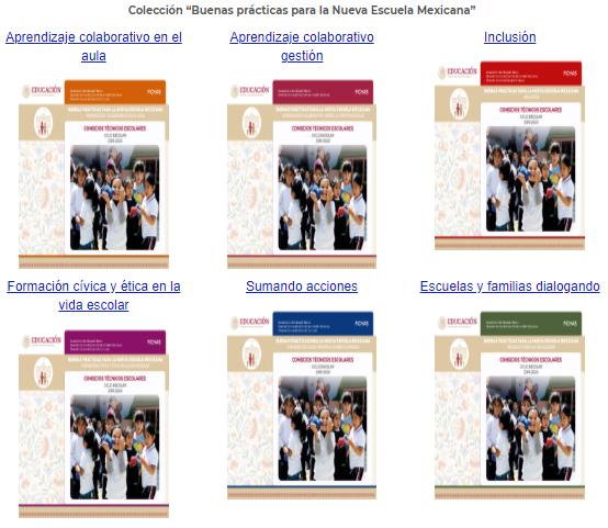 Fichas de Buenas prácticas para la Nueva Escuela Mexicana 3era Sesión