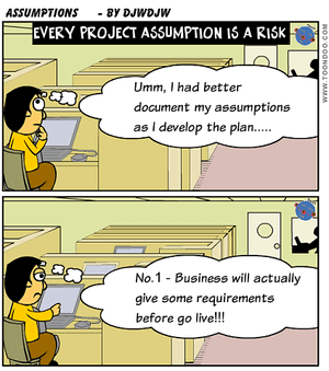 Every Project Assumption is a Risk
