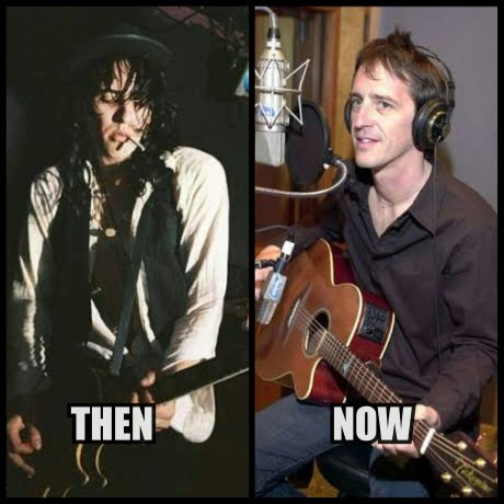 Izzy Stradlin then now