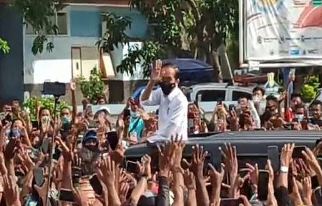 Pengacara HRS: Banyak Kerumunan Pejabat dan Presiden Jokowi, Yang Dipenjarakan Cuma Habib Rizieq
