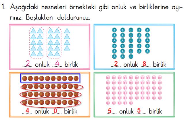 2. Sınıf Başak Yayınları Matematik 21. Sayfa Cevapları 1. Ünite