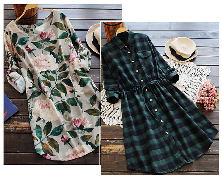 První šaty se svým vzorem hodí spíše na konec léta a1a6a4c542