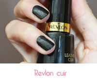 vernis à ongles  cuir