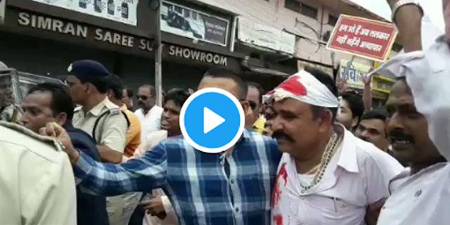 शहडोल में लाठीचार्ज, गुना में दर्जनों गिरफ्तार: भारत बंद @ मप्र | Bharat Band MP News