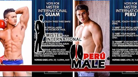Mister International 2017 / 2018 │ Voten por Mister International