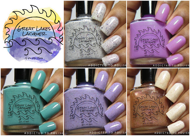great lakes lacquer april 2016 limited editions
