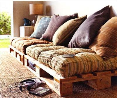 ingeniosa decoración para tu hogar con cosas recicladas