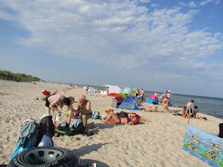 plaża od strony morza w Helu