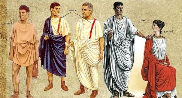 Toga Roma Antiga