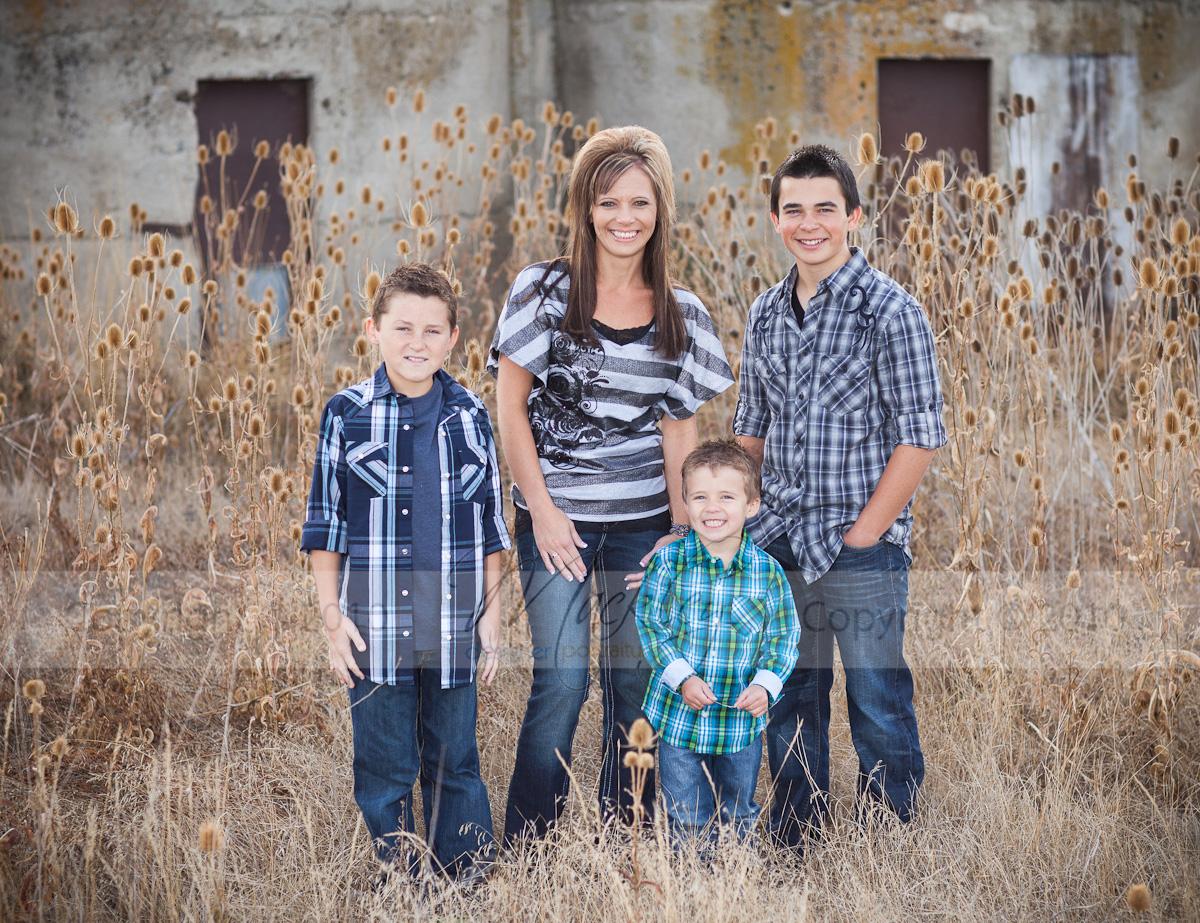 Heather Bird and the Boys!