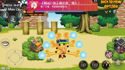 Naruto Senki MOD Sprite : Naruto Rikudou v2 Replace Naruto Sprite Terbaru