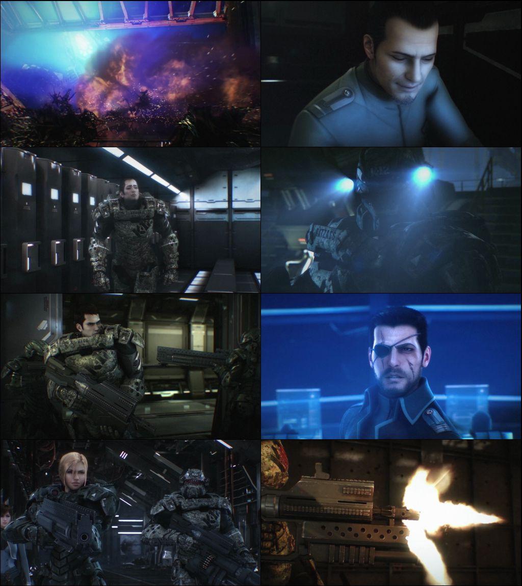 Starship Troopers: Invasion 2012 Dual Audio 720p BluRay