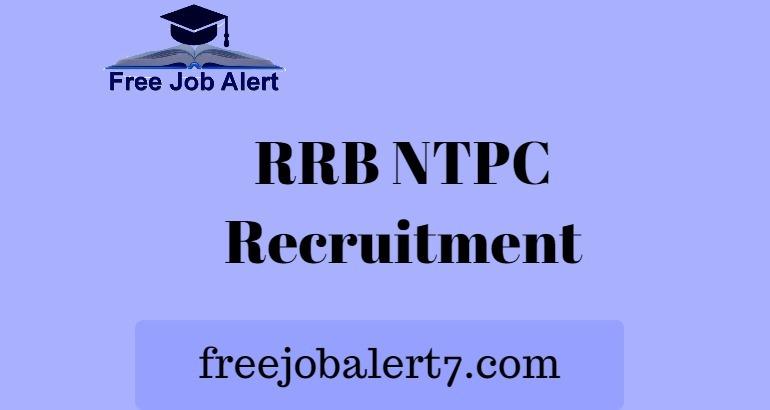 RRB NTPC Recruitment 2019, Railway RRB NTPC Notification 2019