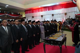 65 Anggota DPRD NTB Periode 2019-2024 Resmi Dilantik