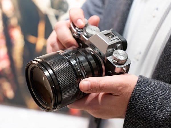 Fujinon XF 50mm f/1.0 с камерой Fujifilm X-T3