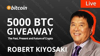 Bitcoin halving 2020 giveaway Robert Kiyosaki