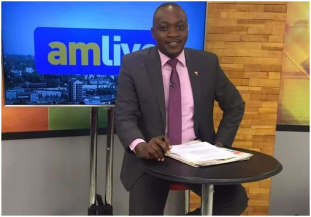 NTV Ken Mijungu scaking photos of the letter  and video